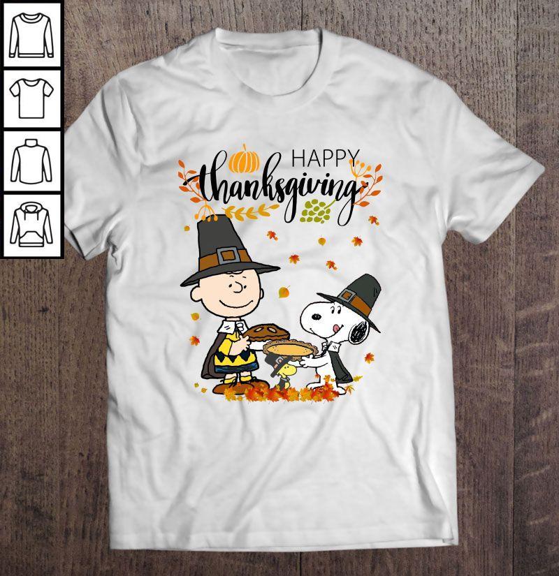 Happy Thanksgiving The Peanuts Movie Shirt