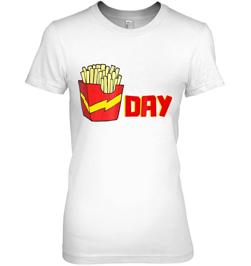 Fry Day Friday Funny Fast Food French Fries Tgif Gif